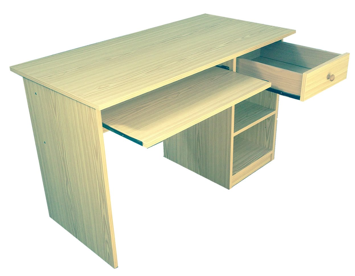 Mesa de estudio color Blanca, Montada pensada para mesa de ...
