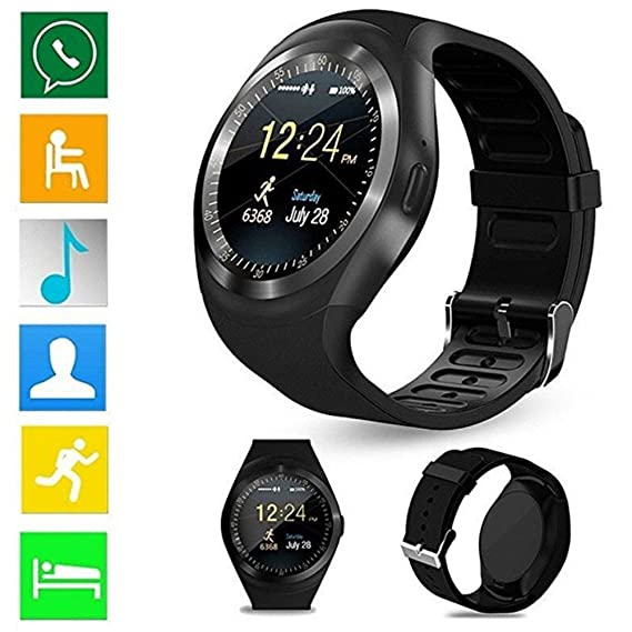 Amazon.com: Y1 Smart Watch for Android Phones Waterproof ...