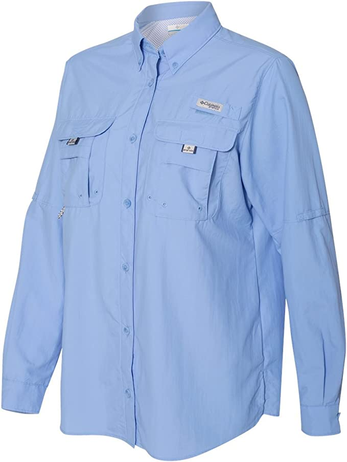 Details about  /NEW Columbia PFG Armadale Women/'s Long Sleeve Shirt Sunnyside XL