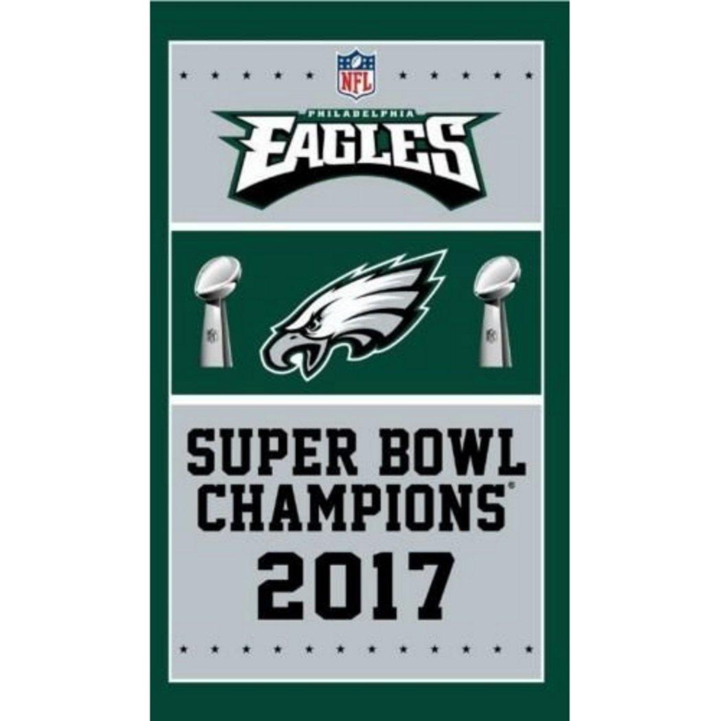 Philadelphia Eagles Super Bowl Champions Banner