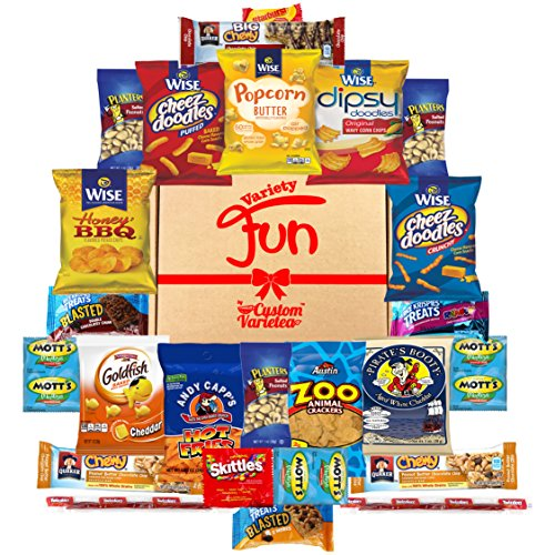 Yummy Snacks Package Cookies Assortment