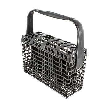 Electrolux 1524746805 Genuine Original Universal GRIS OSCURO Slimline – Cesta de cubiertos para lavavajillas (