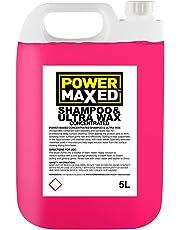 Power Maxed CSUW5000 - Champú con Cera para Coches, Concentrado, 5 l