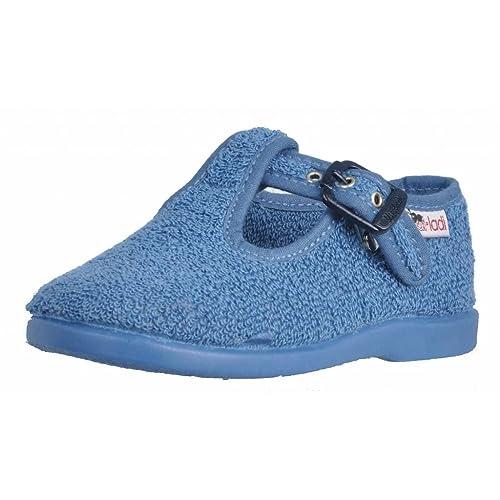 Zapatillas niñas de Estar por casa, Color Rojo, Marca VULLADI, Modelo Zapatillas Niñas De Estar por Casa VULLADI 42536 Rojo: Amazon.es: Zapatos y ...