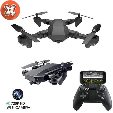 Drone con Cámara 1080P HD con Follow Me, 120º Gran Angular,RTF ...
