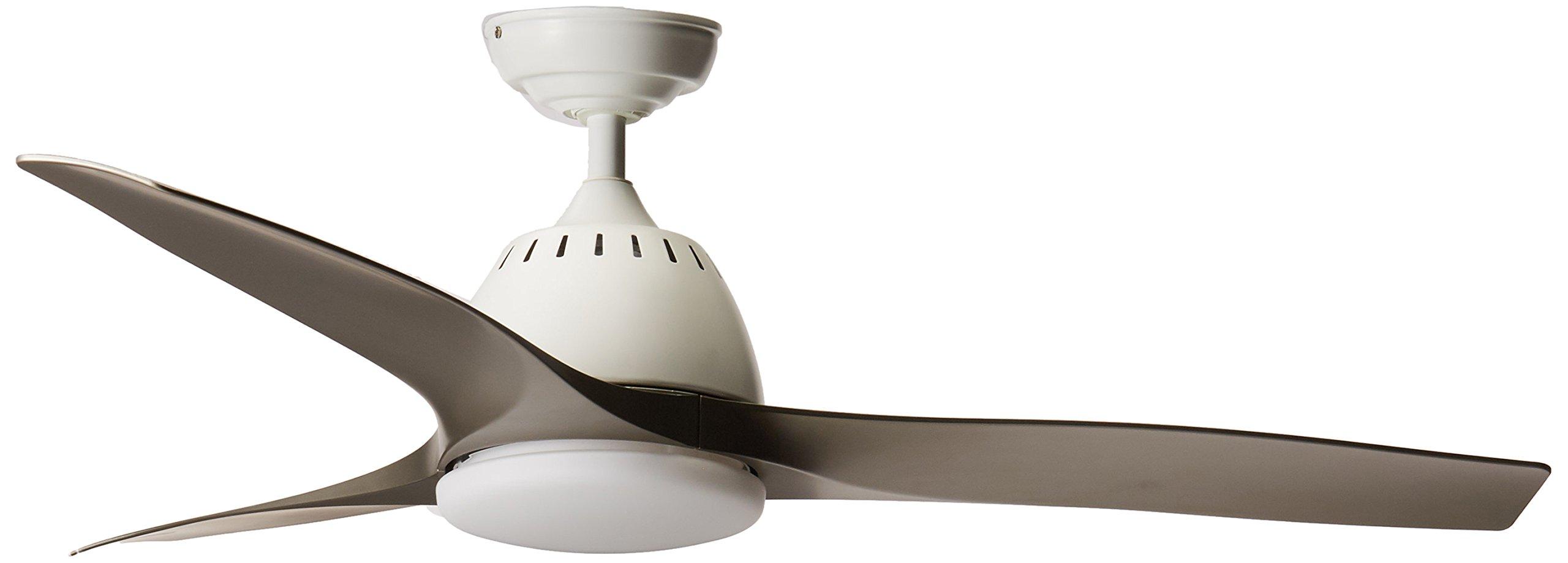 Casablanca 59151 Wisp Indoor Ceiling Fan with Remote, Medium, Fresh White
