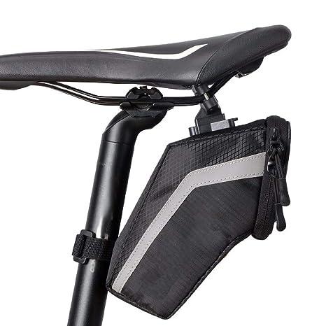 BOLSAS de SillíN para Bicicleta, Impermeable, Cola de Bicicleta de ...