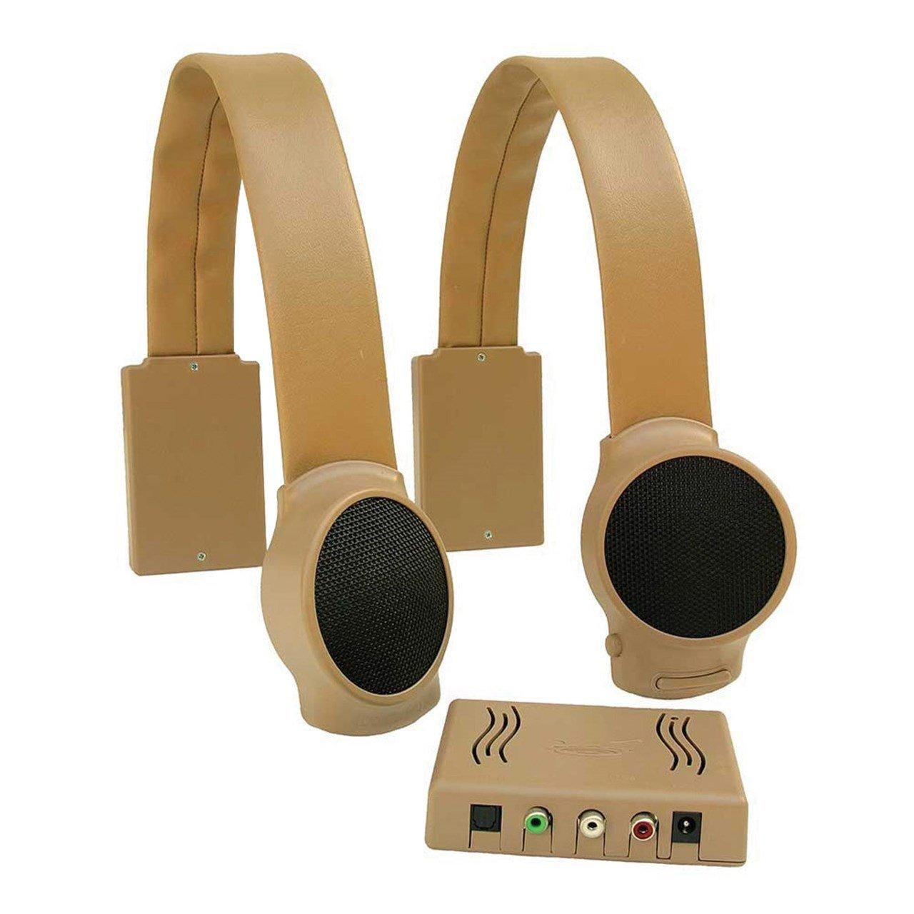 Audio Audio Fox ワイヤレスTVスピーカー ブラウン ブラウン AF-0002 タン タン B00A2KFPSK, 紀州いちばん屋:fd5500d6 --- sharoshka.org
