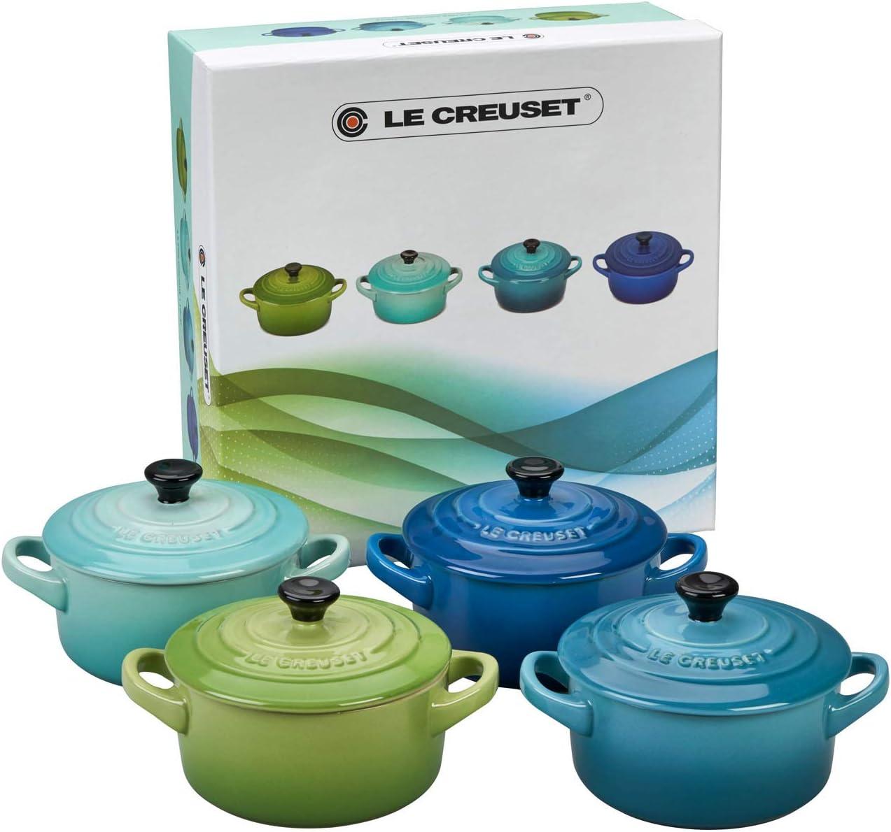 Photo de set-de-4-mini-cocottes-rondes-10-cm-en-ceramique-le