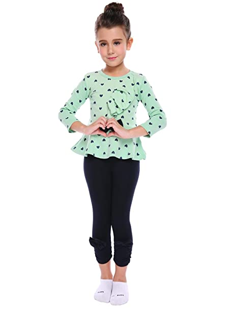 82ca5a7a39bd Amazon.com: Bulges Baby Girl Long Sleeve Clothing Set Cute 2pcs Children  Clothes Suit Top and Pants(US Stock): Clothing