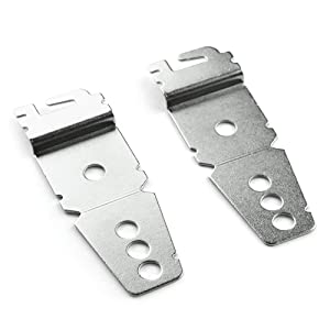 8269145 Dishwasher Mounting Bracket by PartsBroz - 2 Pack - For Whirlpool & KitchenAid - Replaces Parts WP8269145, AP3039168, AP6012289 and More