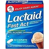 Lactaid Fast Act Lactase Enzyme Supplement, 32 Caplets