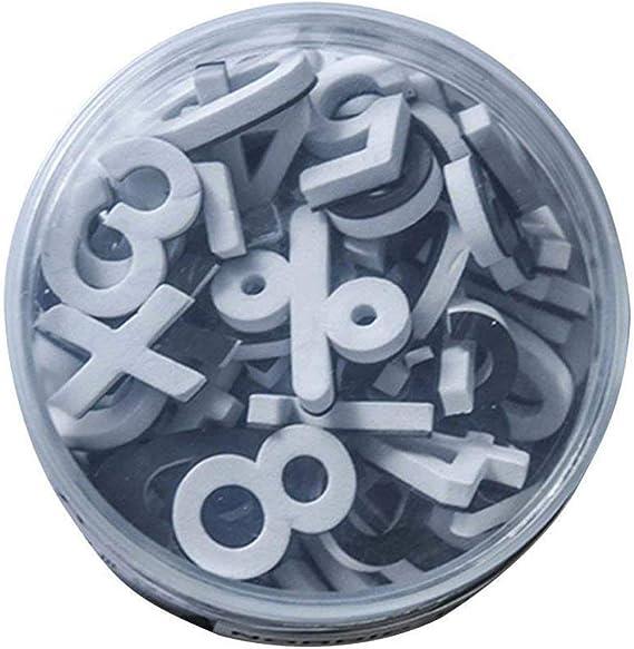 Amazon.com: Lzttyee - Letras de alfabeto de goma EVA ...