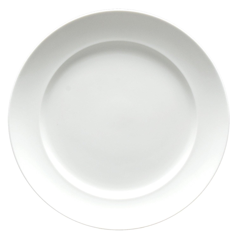 Fortessa Fortaluxe SuperWhite Vitrified China Cassia 11-3/4-Inch Dinner Plate, Set of 6 Fortessa /Schott Zwiesel 6000.F0000.14