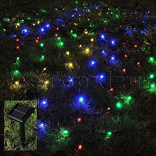 Led Multi Color Net Christmas Lights