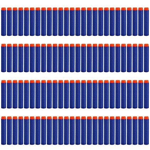LVHERO 200pcs 7.2cm Refill Darts Foam Bullet Ammo Pack for Nerf N-Strike Elite Series - Blue