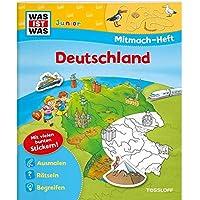 Mitmach-Heft Deutschland: Spiele, Rätsel, Sticker (WAS IST WAS Junior Mitmach-Hefte)