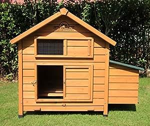 Mascotas Imperial único Savoy–Gran gallinero con caja nido para apto para hasta 6gallinas dependiendo del tamaño