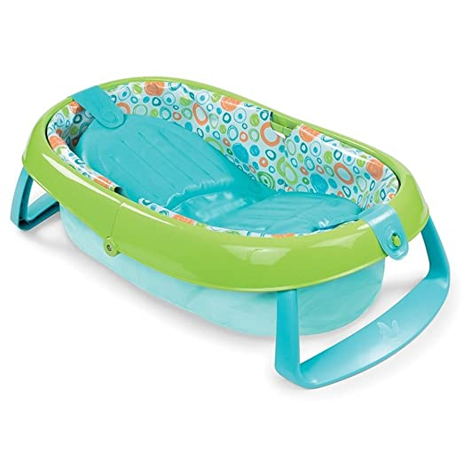 Bañera hinchable plegable para bebé, bañera portátil que se puede ...