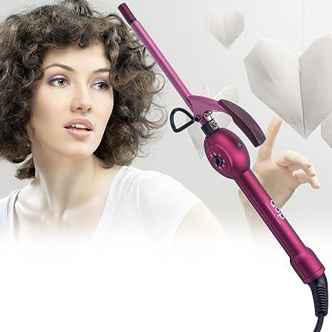 inkint pequeño Mini frisure rizador de pelo de cerámica plancha Moldeadora/alisador de peluquería/