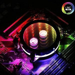 Barrow Ryzen AMD Intel 115X X99 X299 Aurora CPU Water Cooling Block (AMD)