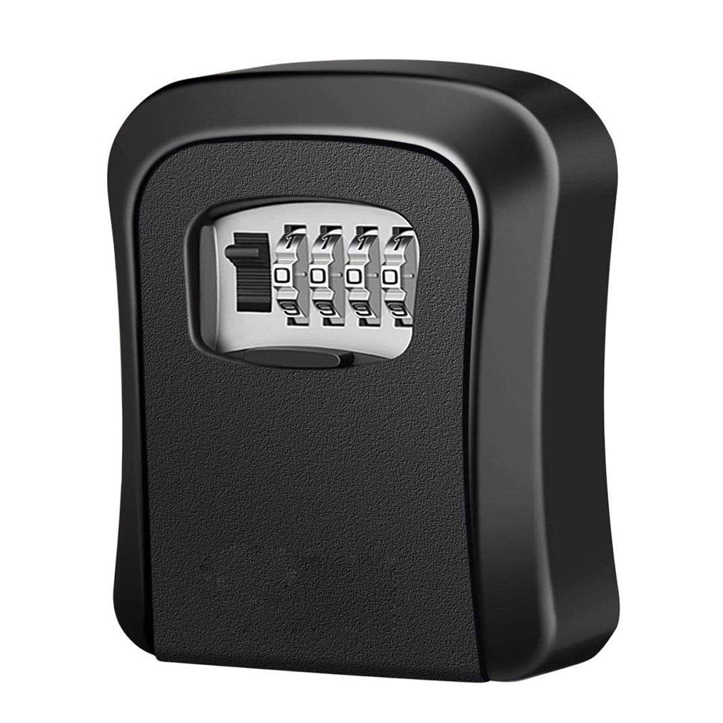 MuLuo Multifunctional Wall Mounted 4-Digit Combination Key Storage Lock Boxes for House/car Keys
