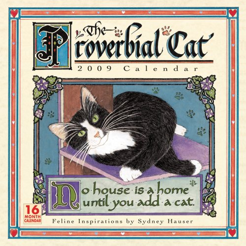Proverbial Cat 2009 Wall Calendar (Calendar)