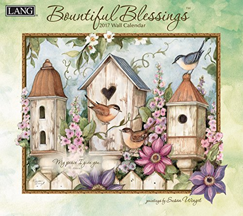 - Lang 2017 Bountiful Blessings Wall Calendar, 13.375 x 24 inches (17991001897)
