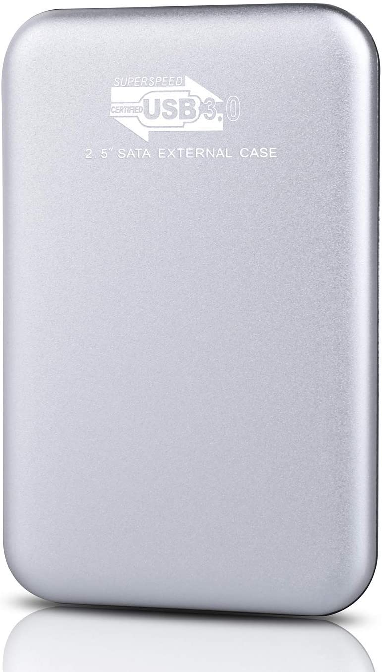 Disco duro externo port/átil de 2 TB Mac actualizaci/ón de disco duro port/átil USB 3.0 compatible con PC port/átil Smart TV plata Chromebook
