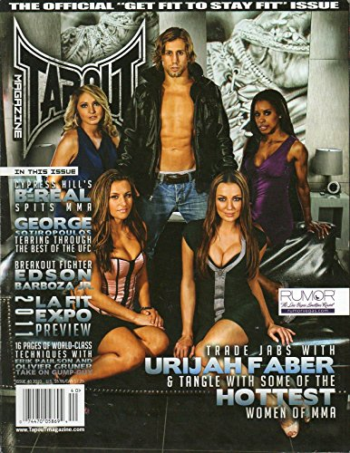 Tapout Magazine #40 2010 HOTTEST WOMEN OF MMA Trade Jabs With Urijah Faber (Best Of Cain Velasquez)