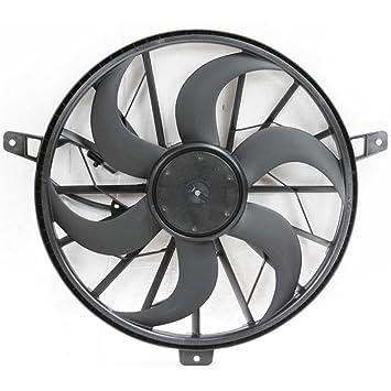 Amazon Com Radiator Fan Assembly For Grand Cherokee 99 03 Liberty