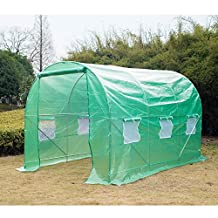 Outsunny 11.5' x6.7' x 6.7' Walking In Greenhouse Garden Plant Seed Green House Steel Frame