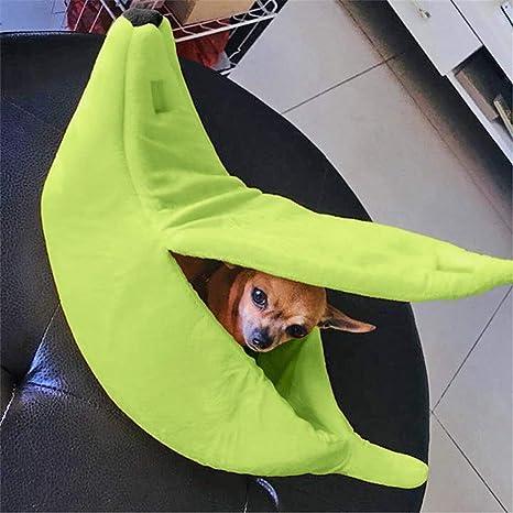 Amazon.com: Banana forma mascota perro gato cama casa ...