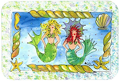 Multicolor 20 by 30 Carolines Treasures 8083-CMTMermaid Kitchen or Bath Mat