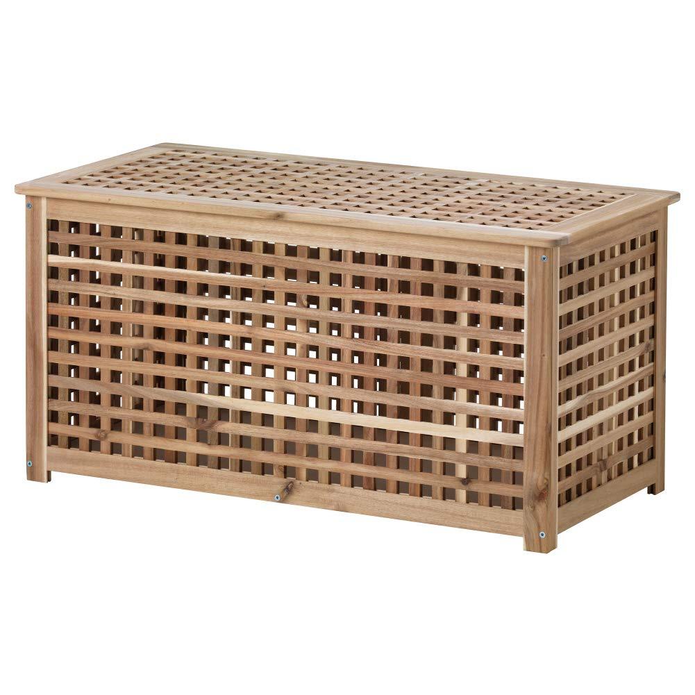 IKEA ASIA HOL Storage Table, Acacia by IKEA ASIA