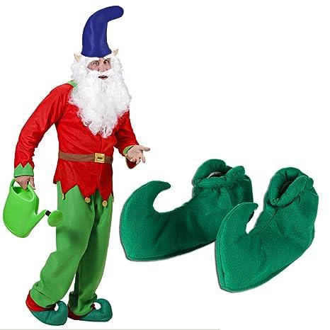 e31d5357a9c83 Chaussures de nain vertes chaussons d elfe Souliers d elfes conte nain sur  chaussure