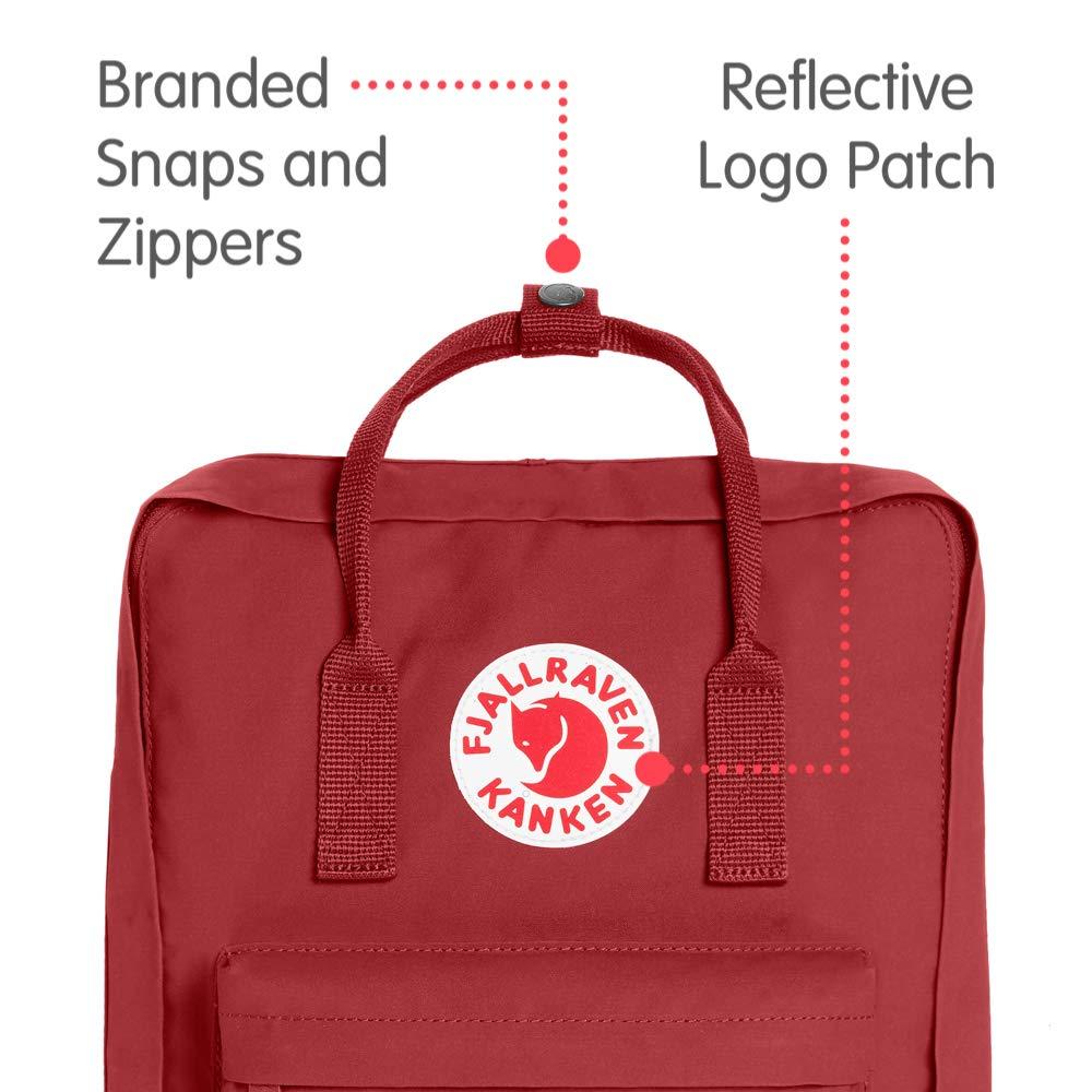Fjallraven - Kanken Classic Backpack for Everyday, Deep Red by Fjallraven (Image #2)
