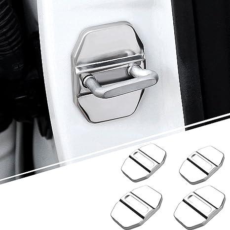 AUTOMAN Cerradura de la puerta para hebilla CAP coche cromo accesorios