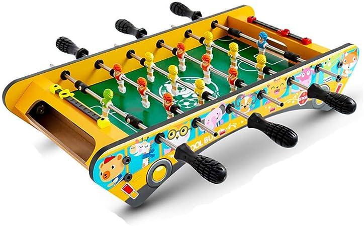 MJ-Games Mini Jugadores de futbolín/futbolín, Juegos de Interior, niños, Familia, Juegos, Deportes, diversión, Adecuado para Personas Mayores de Tres años, Amarillo: Amazon.es: Hogar