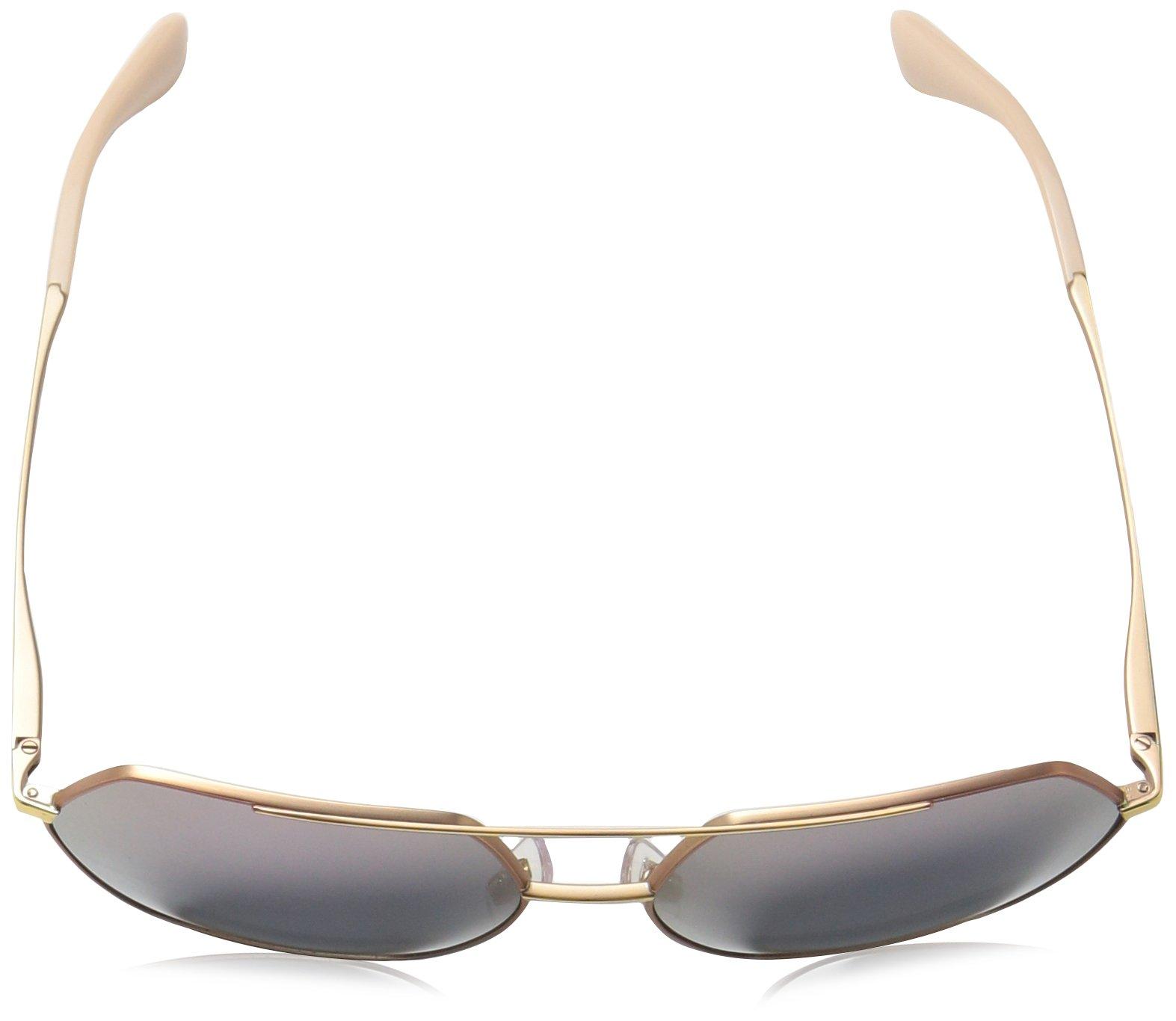 Dolce & Gabbana Women's Metal Woman Non-Polarized Iridium Square Sunglasses, Matte Pink Gold, 59.2 mm by Dolce & Gabbana (Image #4)