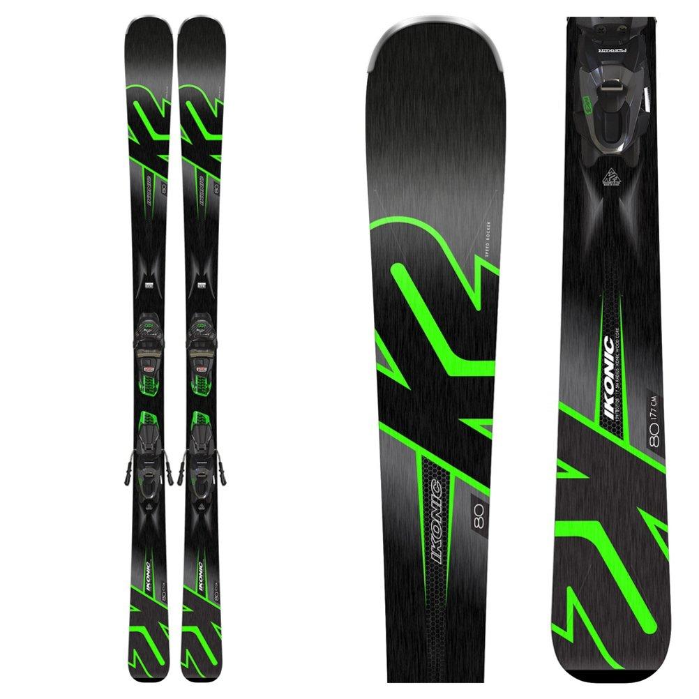 K2 iKonic 80 Skis M3 10 コンパクトバインディング B07H3CHW56   170cm