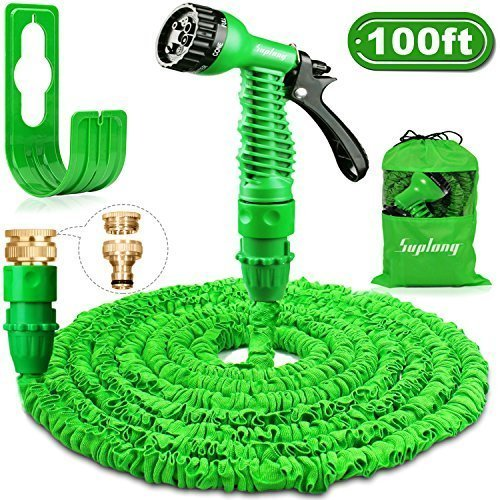 Garden Hose Expandable Water Pipe - Suplong 3 Times Expanding 100ft...