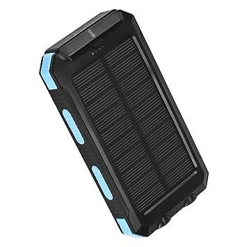 Arino Cargador Solar 10000 Mah Solar Power Banco Externo ...