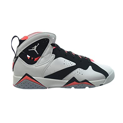 4ddd00741dc1 Jordan Air 7 Retro GG Big Kids Grade School Shoes White Black-Hot Lava