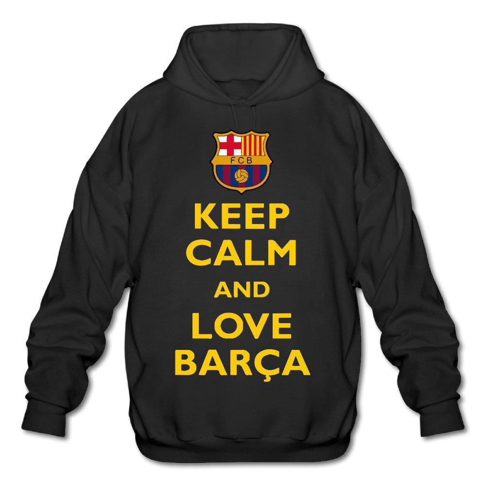 Mskook Keep Calm And Love Barce Hooded