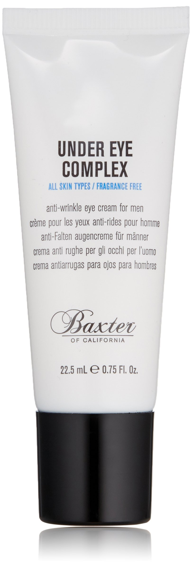 Baxter of California Line Reducing Under Eye Cream, Depuffs and Smooths Wrinkles, All Skin Types, 0.75 fl. oz.