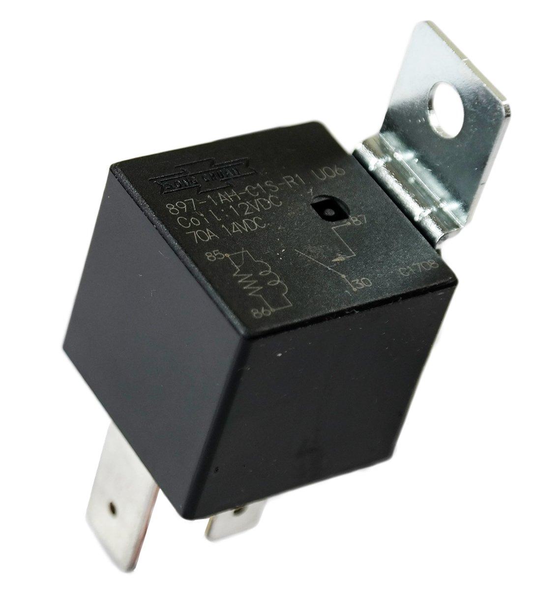 Song Chuan 12VDC Hi-Power W/Resist, Automotive General Purpose Relays