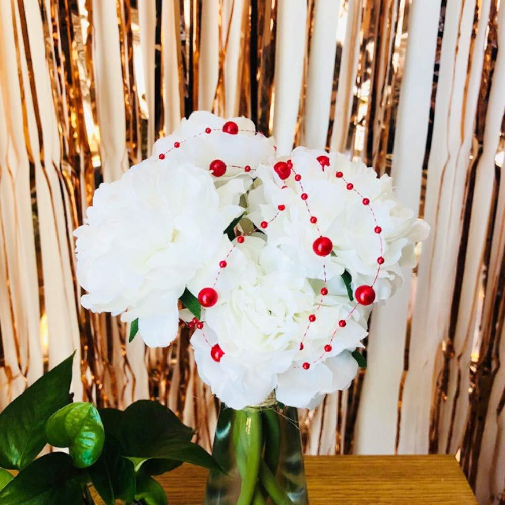 DomeStar Red Pearl Garland 100feet