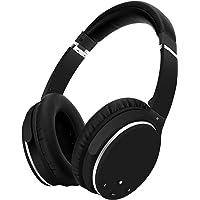 Kopfhörer Bluetooth Kabellos Noise Cancelling- Srhythm NC25- Over Ear Kopfhoerer mit Mikrofon Aktiver Geräuschunterdrückung 190g Ultraleicht Faltbar Hi-Fi Stereo mit Flugzeugstecker (MEHRWEG)