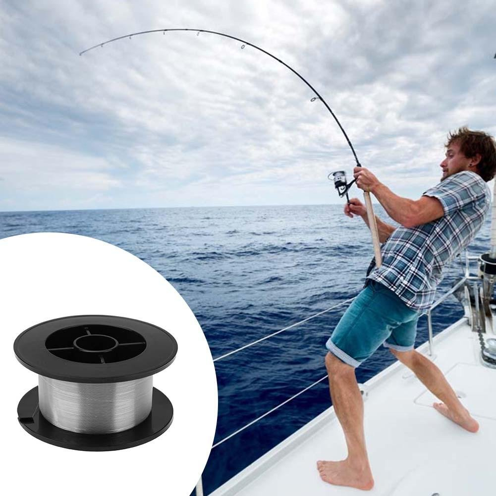 NELNISSA 300/m Stark Angelschnur Monofilament Nylon Transparent Floating Line 4.0